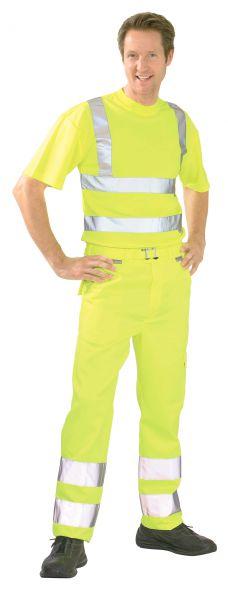 Warnschutz Bundhose uni gelb Gr. 24