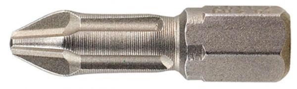 Bit Torsion PH2 25 mm, reduzierte Spitze