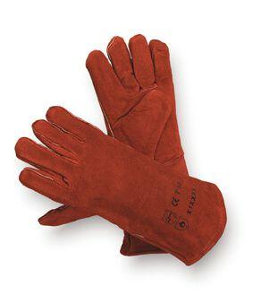 Schweisserhandschuhe 350 mm, bis 200°C, 5-Finger
