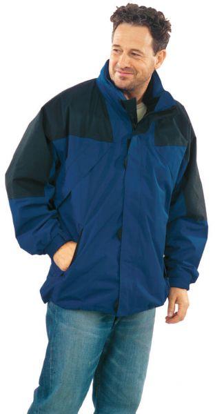 Redwood Jacke amporablau, schwarz Gr. S