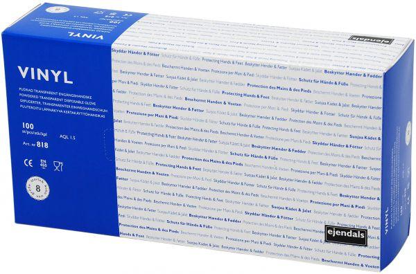 Untersuchungshandschuhe 818 TEGERA Basic, Vinyl, gepudert, Gr. 7