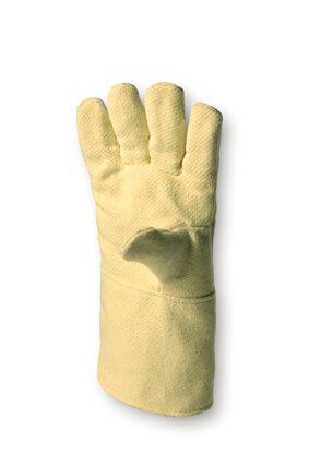 Hitzeschutzhandschuh ARAMID-Gewebe, bis 350°C, 3-Finger