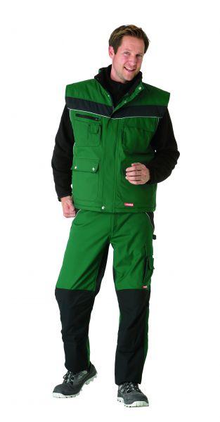 Winterweste Inline grün, schwarz Gr. XS