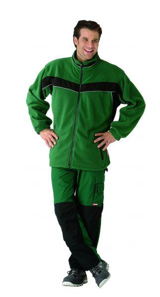Fleecejacke Inline grün, schwarz Gr. XS