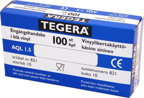 Untersuchungshandschuhe 821 TEGERA Classic, Vinyl ,  PVC, gepudert, Gr. 7