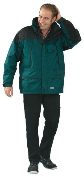 Twister Jacke grün/schwarz