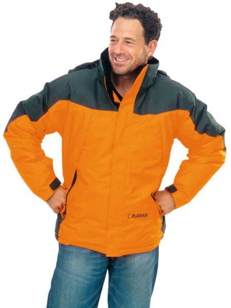 Wizard Jacke orange, dunkelgrau Gr. S
