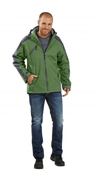 Splash-Jacke grün, grau Gr. S