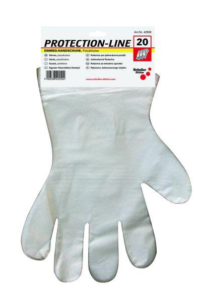 Einweghandschuhe Polyethylen Gr. XL