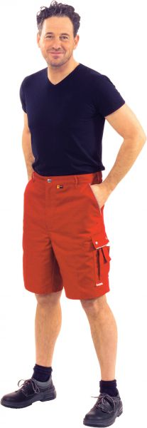 Arbeitsshorts CANVAS rot, rot Gr. S