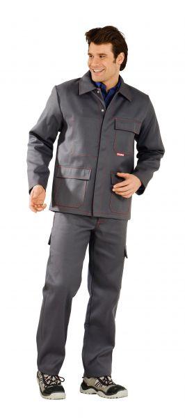 Schweißerschutz Jacke 500 grau Gr. 42