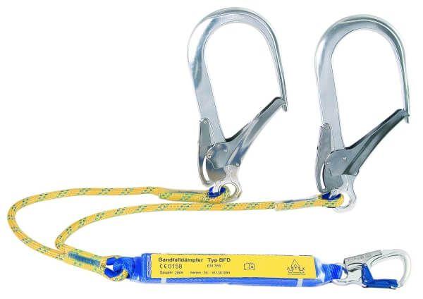 Y-Verbindungsmittel mit BFD, Seil zweisträngig, Karabiner AXK 10/FS 110, 2,0 m