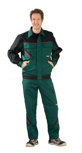 Bundjacke HIGHLINE grün, schwarz, rot Gr. 24