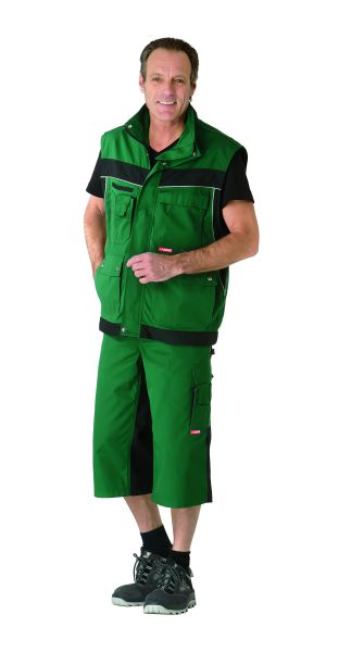 Bundhose 3, 4 Inline grün, schwarz Gr. XS