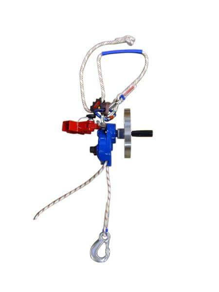 Abseil-/Rettungsgerät AG 10 Hub K einschl. Adapter, ohne Seil