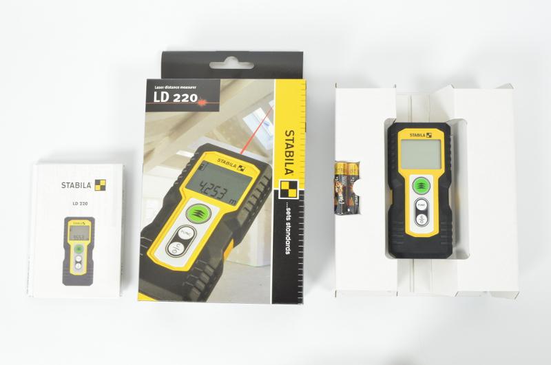 Testbericht zum neuen stabila laser entfernungsmesser ld 220