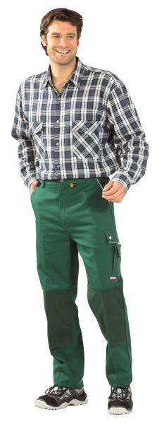 Flanell-Hemd 2001 grün kariert Gr. 37, 38
