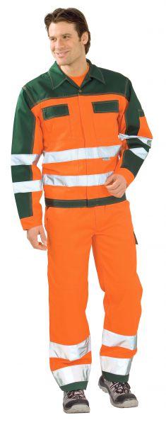 Warnschutz Bundjacke orange, grün Gr. 24