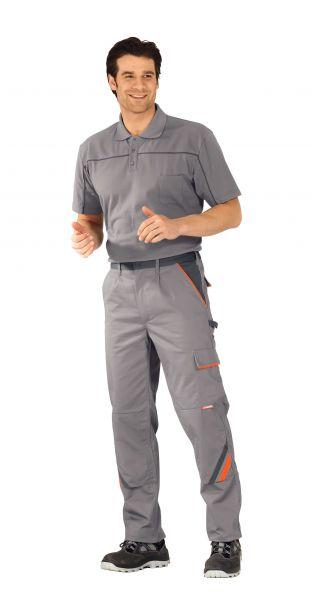 Bundhose VISLINE zink, orange, schiefer Gr. 24