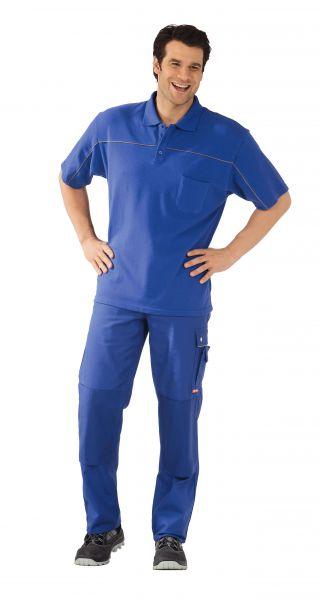 Polo-Shirt kornblau ,  zink, Größe XS