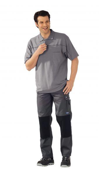 Polo-Shirt zink ,  schiefer, Größe XS