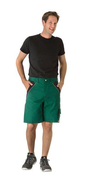 Arbeitsshorts Inline grün, schwarz Gr. XS