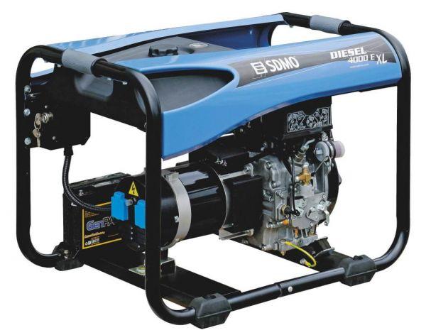 Stromerzeuger DIESEL 4000 E XL C