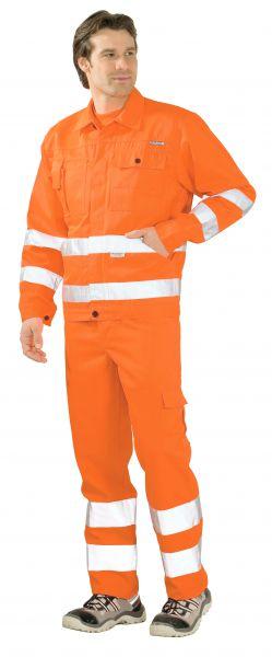 Warnschutz Bundjacke uni orange Gr. 24