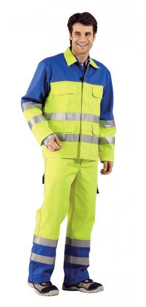 Major-Protect Warnschutz Bundjacke warngelb, kornblau Gr. 42