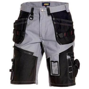 Handwerker-Shorts X1500 grau, schwarz Gr. 44