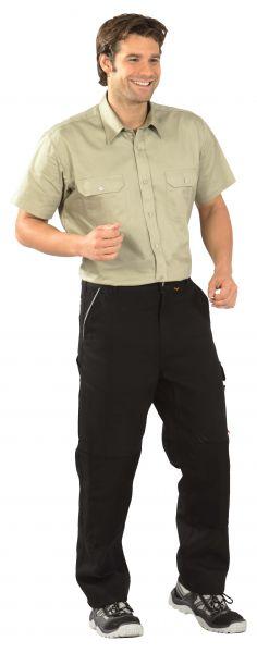 Köper-Hemd 1, 4 Arm khaki Gr. 37, 38