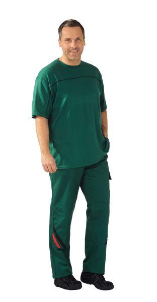 T-Shirt grün ,  schwarz, Größe XS