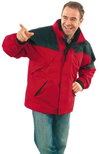 Redwood Jacke rot, schwarz Gr. S