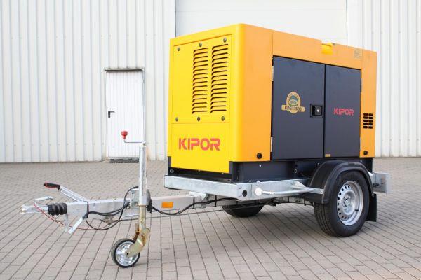 Stromerzeuger 31 kVA - KIPOR KDE 35 SS 3
