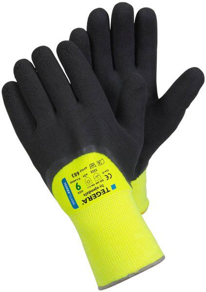 Kälteschutzhandschuhe 683 TEGERA® Classic, 3, 4-beschichtetes Nitril, Gr. 7