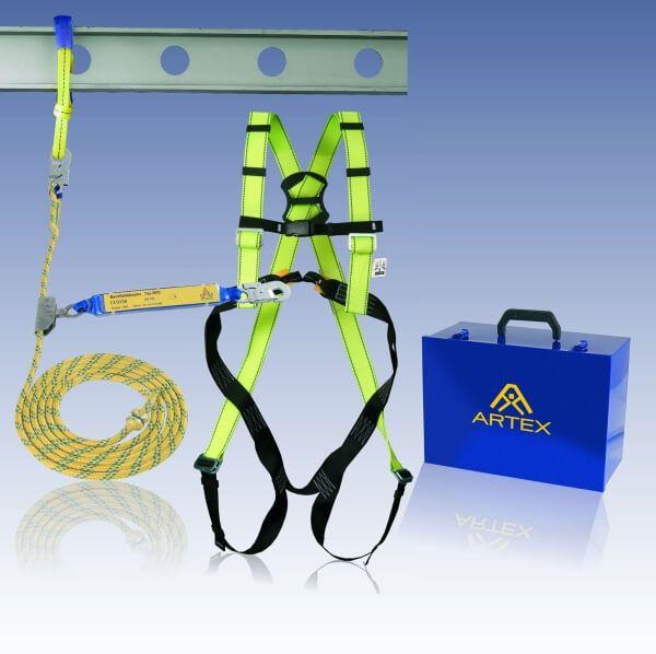 Auffangsystem Dachdecker-Set, mit Seil 10 m