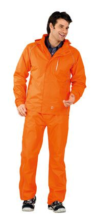 Monsun Jacke orange Gr. S