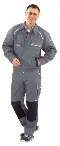 Bundjacke CANVAS grau, schwarz Gr. 24