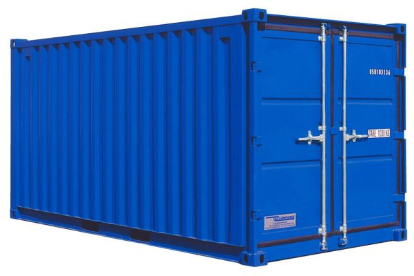 Lagercontainer LC 15', Enzianblau