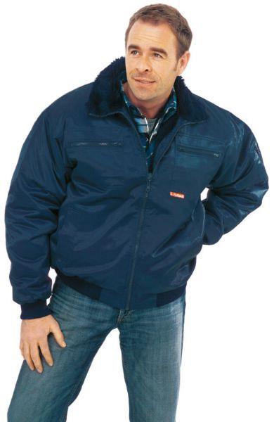 Gletscher Piloten Jacke marine Gr. S