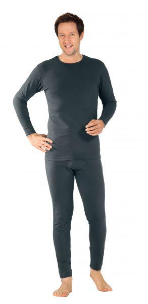 Funktions-Shirt 190 langarm grau Gr. S
