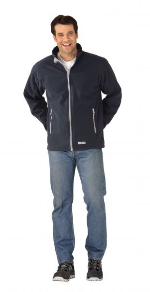 Retro-Fleece Jacke marine Gr. XS