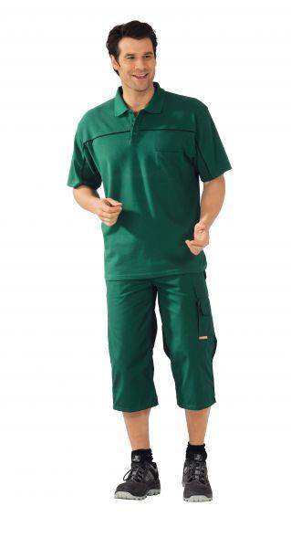 Polo-Shirt grün ,  schwarz, Größe XS