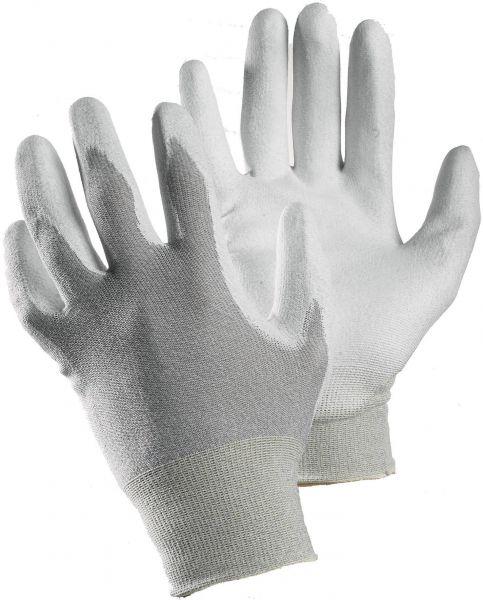 Elektrikerhandschuhe 811 TEGERA Classic, Nylon, PU, Kohlenfasern, Gr. 6