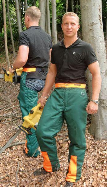 Schnittschutz-Chaps grün, 1,08 m