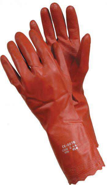 Chemiekalienhandschuhe 8170 TEGERA Classic, PVC, naphtalinfrei, Gr. 7