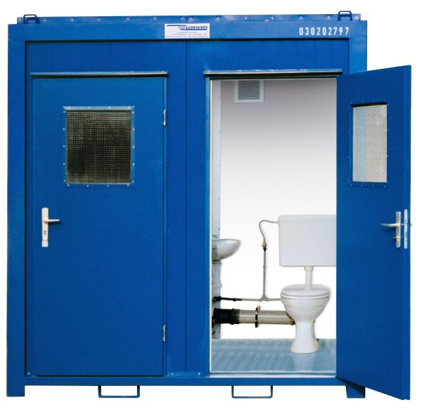 WC-Container WC 8' Duo