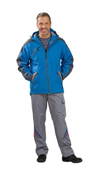 Splash-Jacke blau, grau Gr. S
