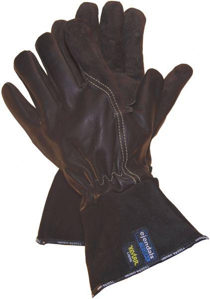 Hitzeschutzhandschuhe 132 TEGERA Classic, Ziegenspalt-, Rindleder, Gr. 7