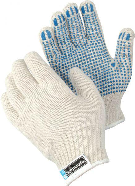 Strickhandschuhe 4630 TEGERA Basic, Baumwolle, Polyester, Gr. 8